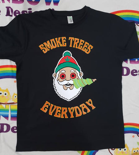 Mens Smoke Trees everyday Tshirt
