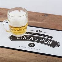 Personalised BAr Mats