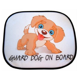 Car sunshades personalised