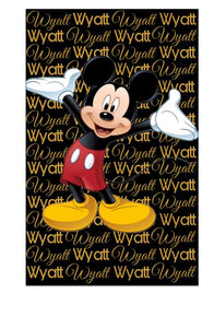 Mickey Custom  Blanket