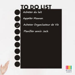 Sticker mural To Do List ardoise | Ma Petite Organisation