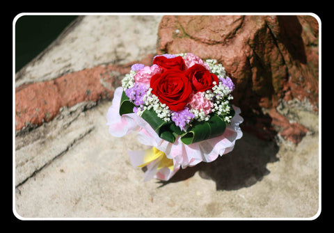 Simple Rose Bouquet- ZZR1188