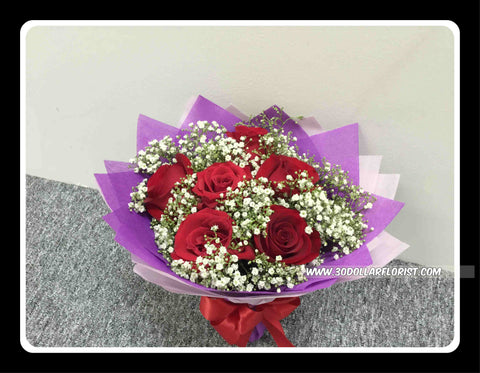 Red Rose Bouquet     - val1183