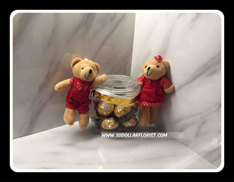 Bears with Ferrero Rocher - ZZR3517