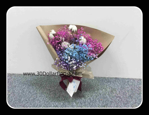 Cotton Flower Bouquet - Val1396