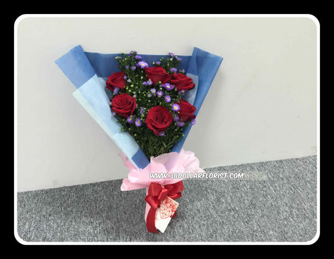 Red Rose Bouquet V- VAL1193
