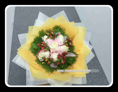 Sweet Rose Bouquet II- ZZR1533