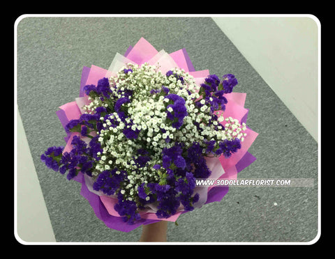 Statice Bouquet  II     - VAL1318