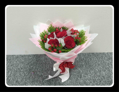 Sweet Rose Bouquet- ZZR1168A