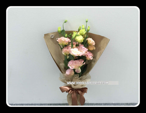 Eustoma Bouquet - VAL1312