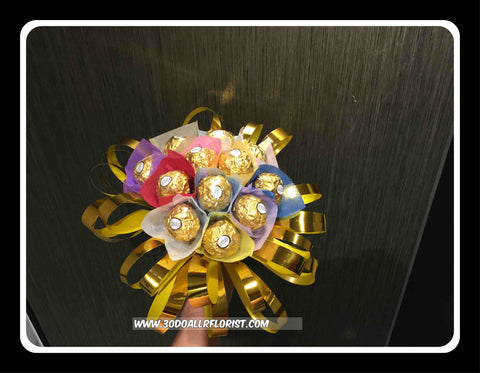 Colourful Chocolate Bouquet - VAL3604
