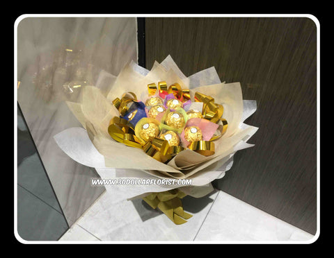 Colourful Chocolate Bouquet - ZZR1299val