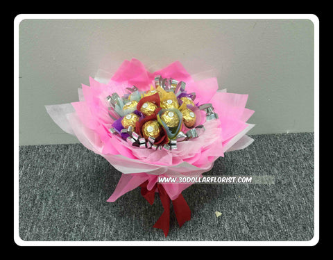 Colourful Chocolate Bouquet - ZZR1299