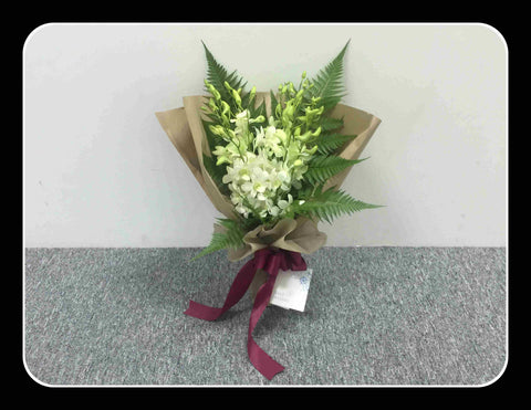 Simple Orchid Bouquet    - ZZR1163