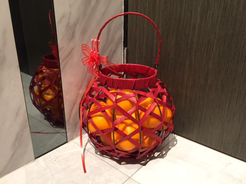 Orange  Basket - ZZR5929