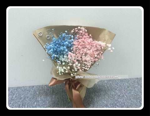Colour Baby Breath Bouquet - VAL1308