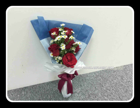 Red Rose Bouquet VI- ZZR1236