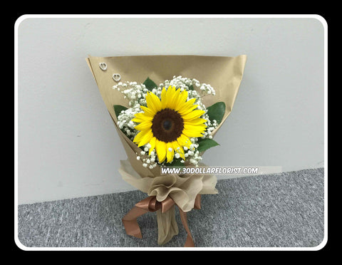 Single Sunflower - ZZR1301