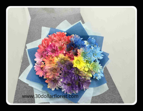 Colourful Spray Flower Bouquet- ZZR1142