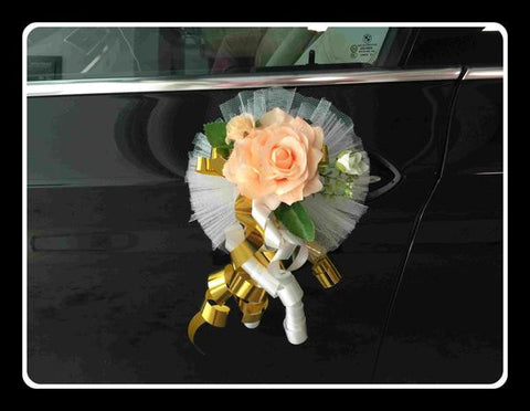 Accompany Car Artificial Flower Decoration - ZZR0770