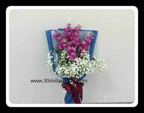 Matthiola Flower Bouquet - ZZR1149