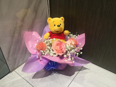 Cute Pooh Arrangement  - ZZR3505