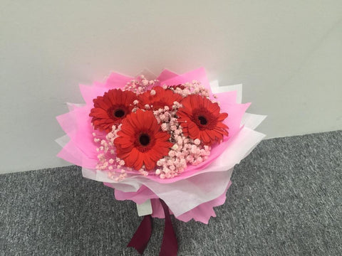 Simple Gerbera Bouquet  - ZZR1146