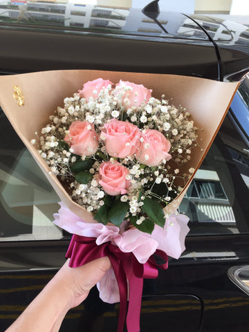Pink Rose Bouquet - val1184