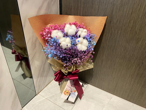 Cotton Flower Bouquet - ZZR1376