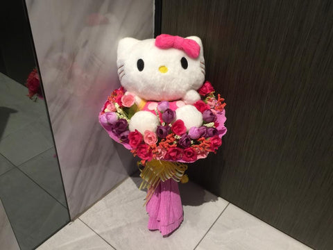 Cute Kitty Bouquet - ZZR3612