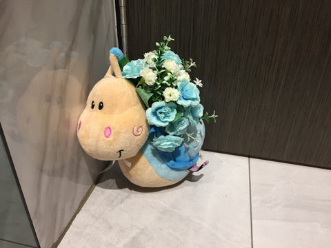 Soft Toy with Flower - ZZR3551