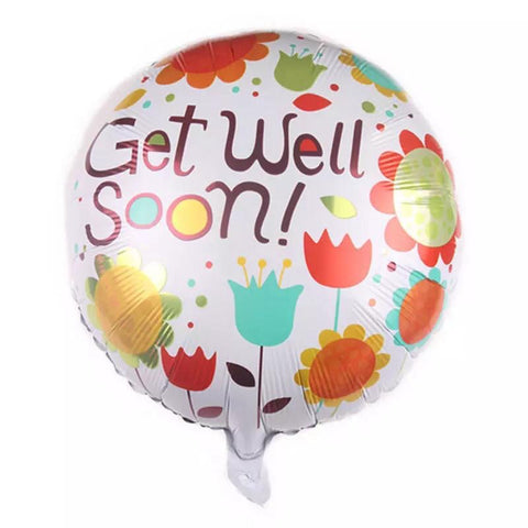 Get Well Soon Balloon ( Non Helium) - BAL0177