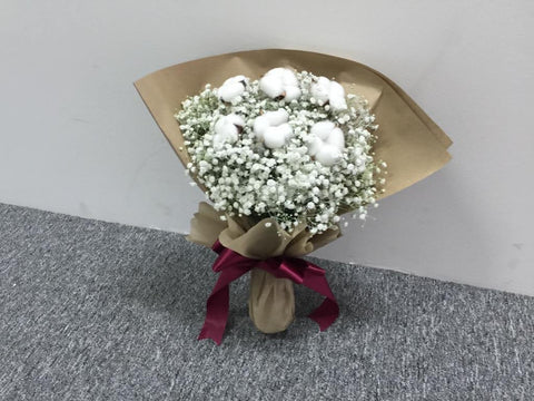 Cotton Flower Bouquet - ZZR1316val