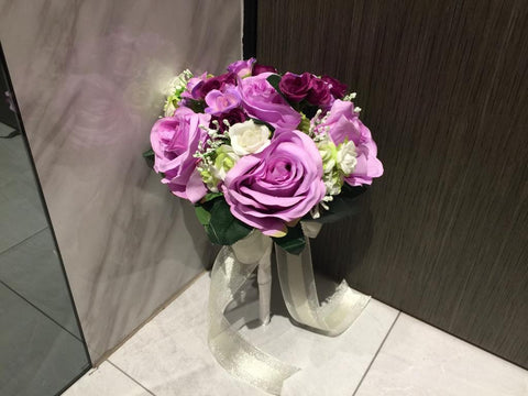 Artificial Rose Bouquet   - ZZR0355