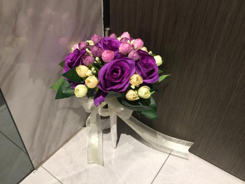 Artificial Rose Bouquet   - ZZR0352