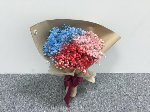 Colour Baby Breath Bouquet - ZZR1300