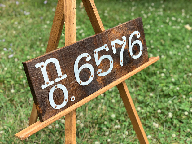 Address Sign, Custom Requests Available - Personalized Metal Letter Sign