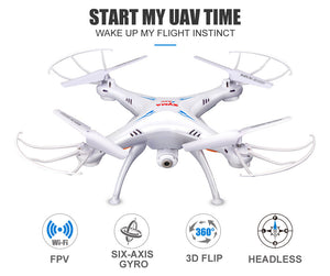 Syma X5SW Drone with WiFi Camera Real-time FPV 2.0MP HD Camera 2.4G 4CH
