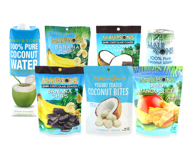 Coconut Water and Snacks!