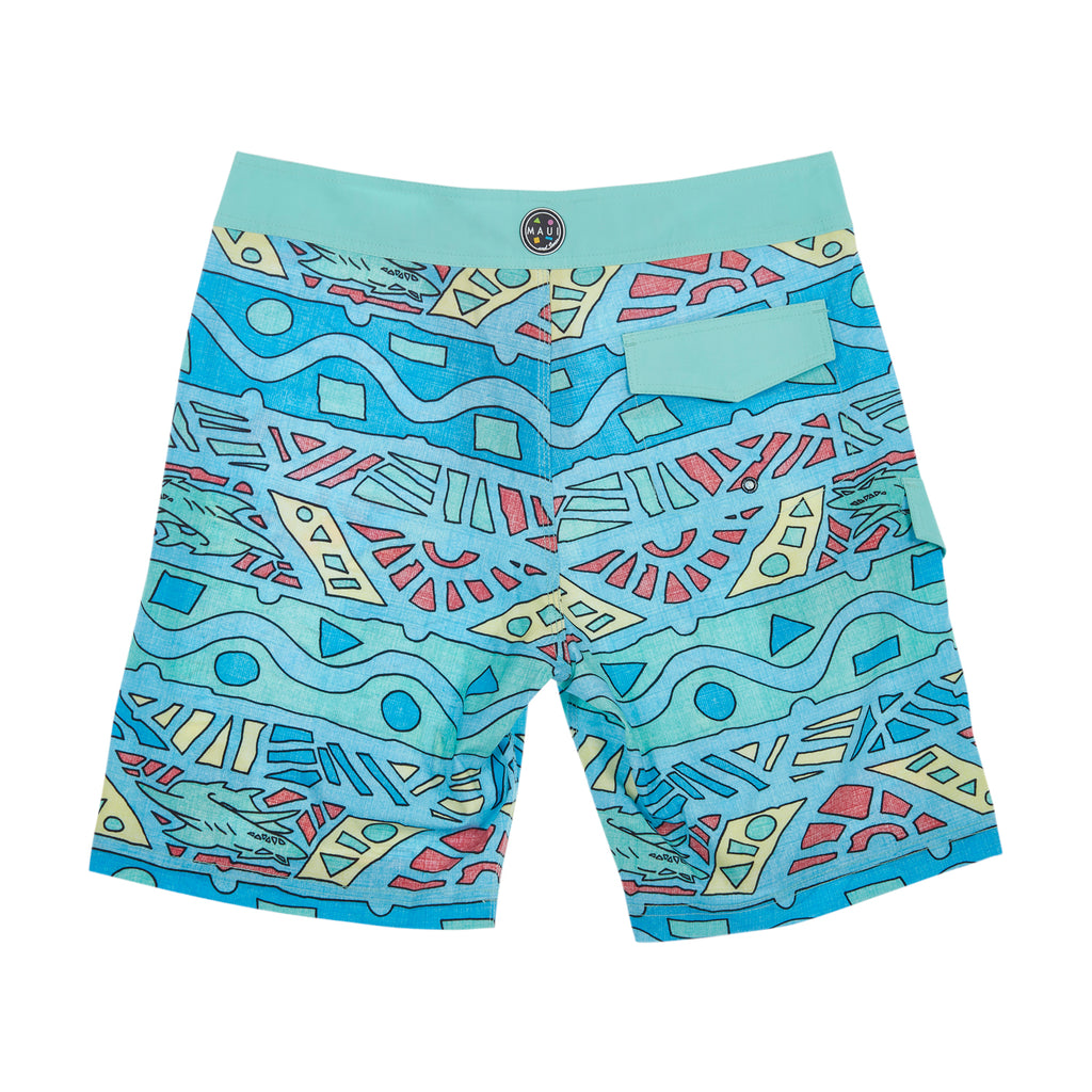 80s Quest 4-way Stretch Boardshort