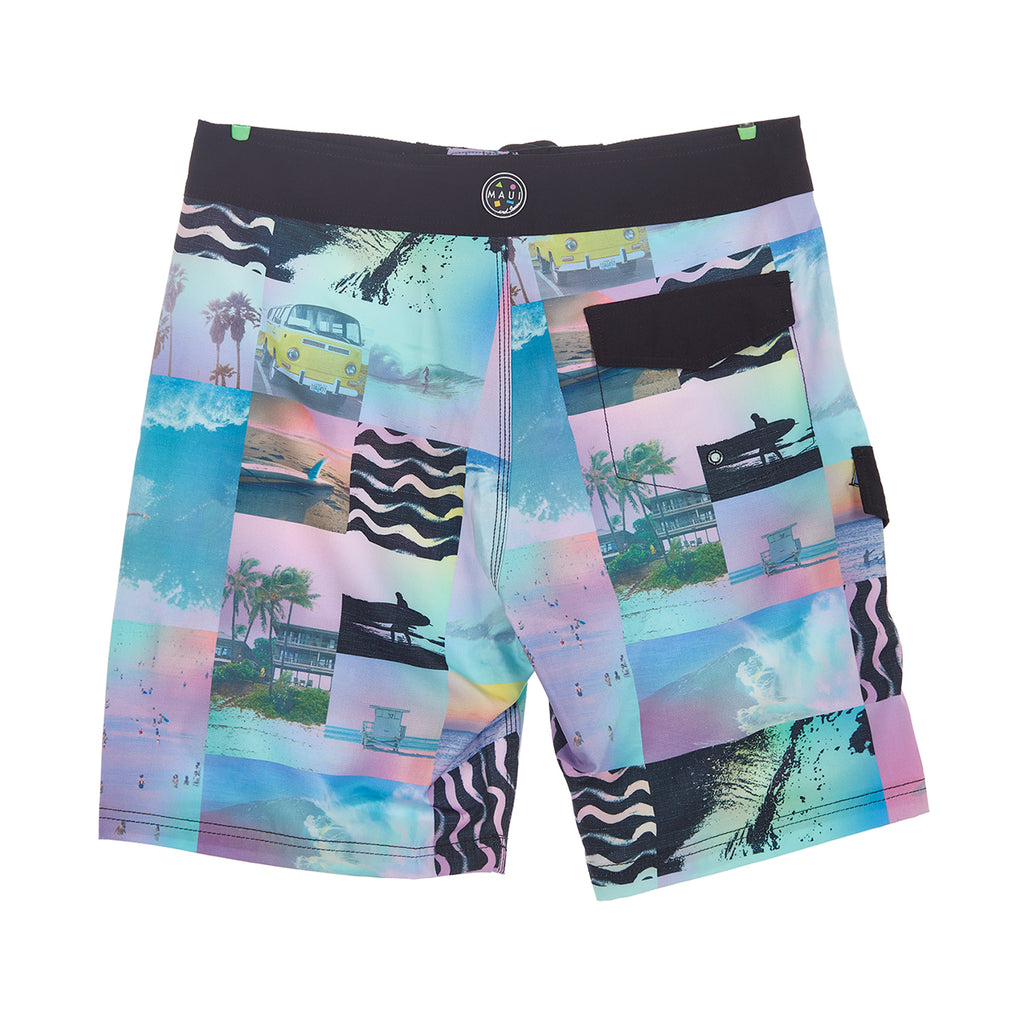 """Like that"" 4-Way Stretch Boardshort"