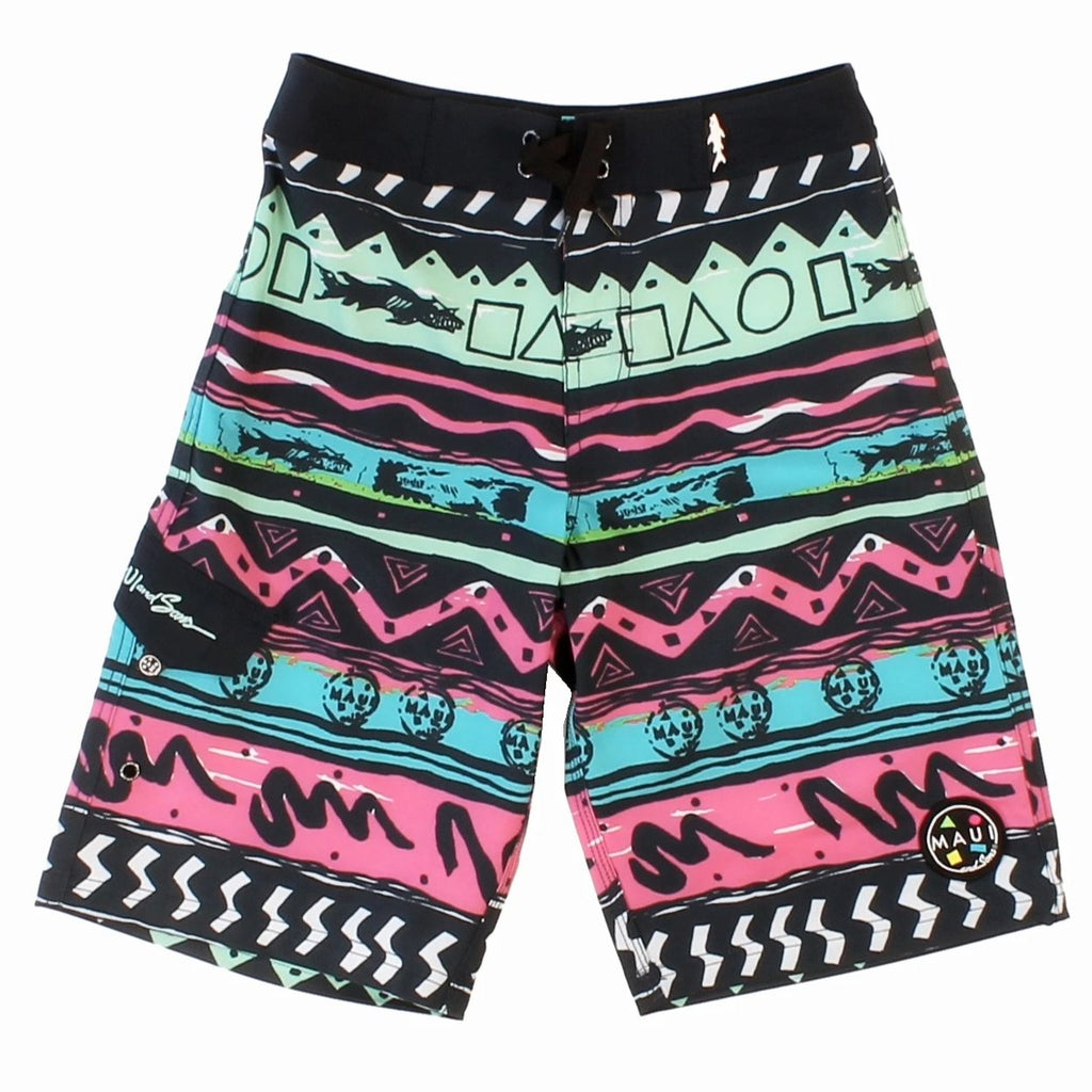 Boy's Rad shark 4-Way Stretch Boardshort