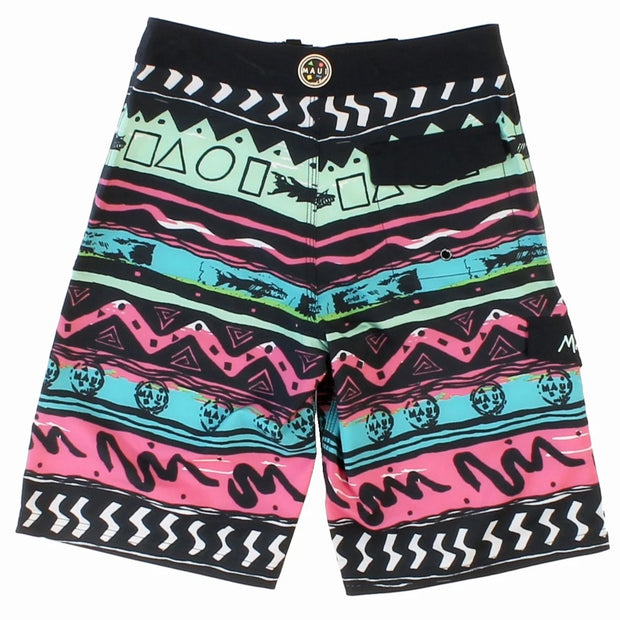 Boys Rad Shark Stretch  Boardshort