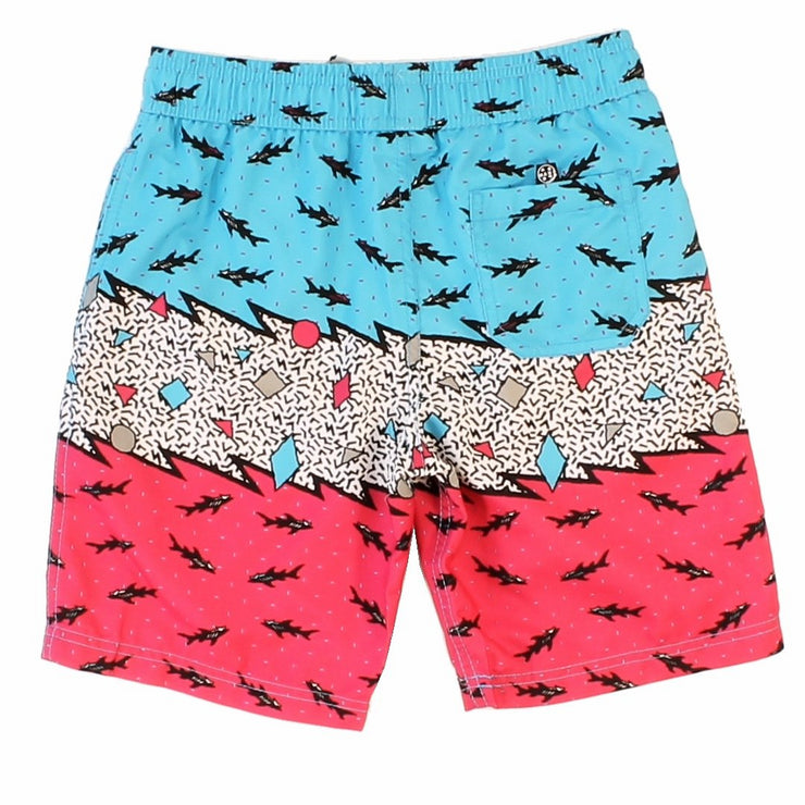 Boys 80'S Jumble Pool Short