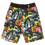 Boys Wild Shark Stretch  Boardshort