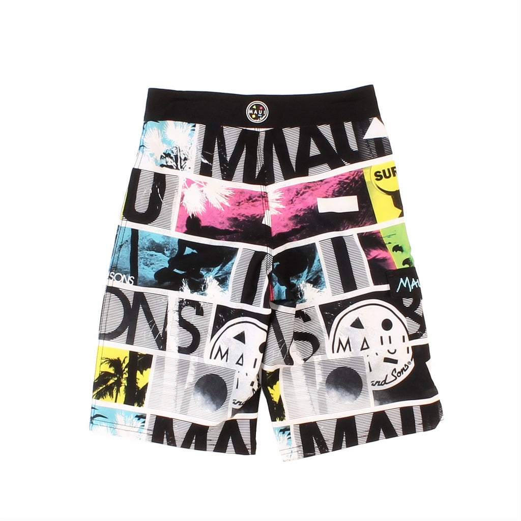Boy's The now 4-way Stretch Boardshort