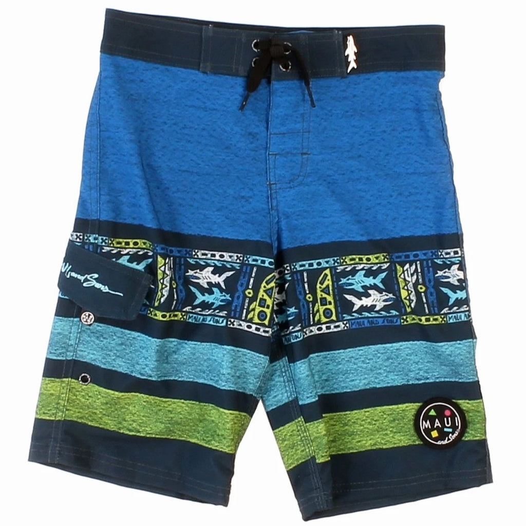 Boy's Cutting Edge 4-way Stretch Boardshort