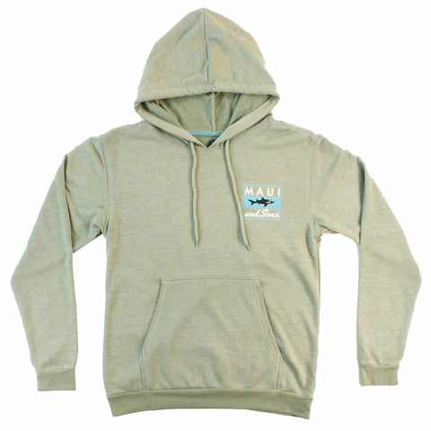 MFL8721 Classic Shark Mens Fleece Hoodie