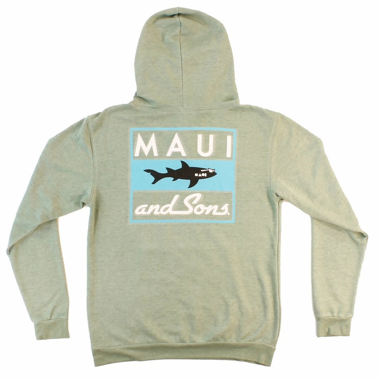 Classic Shark Mens Fleece Hoodie