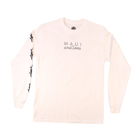 MKT8742 Sharkman on the beach Longsleeve